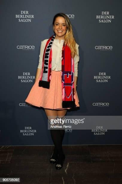 Marina Hoermanseder attends the Vogue Salon during 'Der Berliner Salon' AW 18/19 at Kronprinzenpalais on January 16 2018 in Berlin Germany