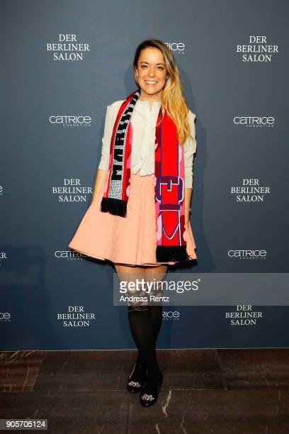 Marina Hoermanseder attends the Vogue Salon during 'Der Berliner Salon' AW 18/19 at Kronprinzenpalais on January 16, 2018 in Berlin, Germany.