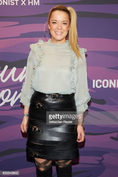 Marina Hoermanseder attends the Young ICONs Award in cooperation with H&M and Tiffany's & Co at BRLO Brwhouse on February 14, 2017 in Berlin, Germany.