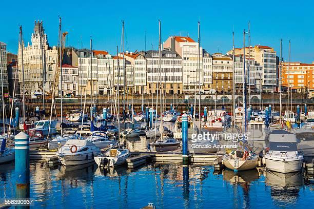 Marina in A Coruña.