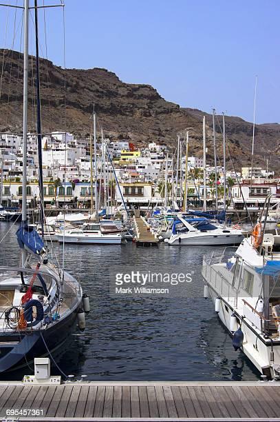 Marina in Gran Canaria.