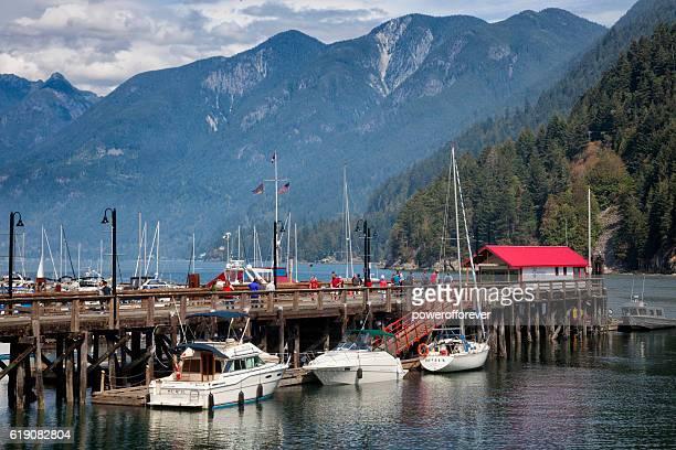 Marina in Horseshoe Bay, British Columbia, Canada