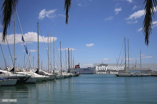 marina in palma - bavosi stock pictures, royalty-free photos & images