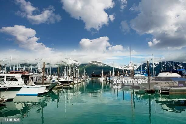 Marina in Seward,Alaska...USA