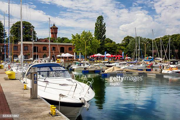 Marina in Swinoujscie, Poland