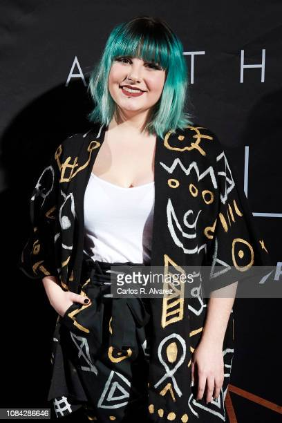 Marina Jade attends the Winter Anthem Gala photocall at Circulo de Bellas Artes on December 18 2018 in Madrid Spain