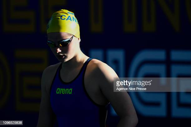 Marina Jehl of France 200m freestyle during the Golden Tour Camille Muffat on February 9 2019 in Nice France