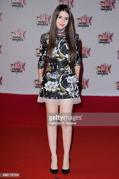 Marina Kaye attends the 17th NRJ Music Awards at Palais des Festivals on November 7, 2015 in Cannes, France.