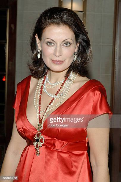 Marina Killery attends The Frick Collection Autumn dinner at The Frick Collection on October 20 2008 in New York City