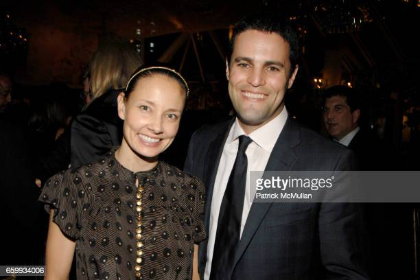 Marina Krim and Kevin Krim attend Tribeca Film Institute Benefit Screening of Everybody's Fine Party at Tavern on the Green on December 3 2009 in New...