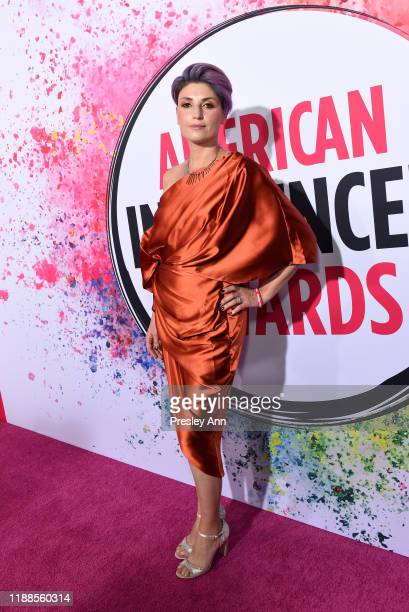 Marina Lantos attends the 2nd Annual American Influencer Awards at Dolby Theatre on November 18 2019 in Hollywood California
