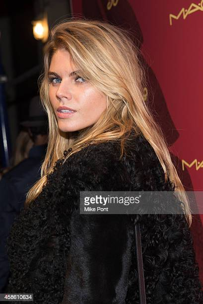 Marina Linchuk attends Indochine's 30th Anniversary Party at Indochine on November 7, 2014 in New York City.