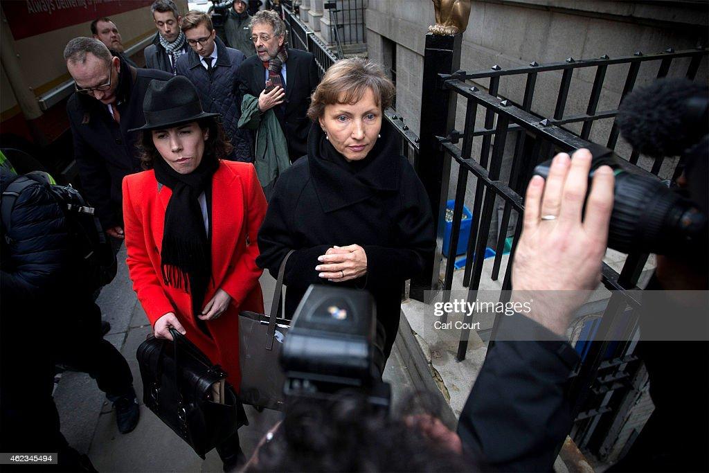 Alexander Litvinenko Murder Inquiry Opens At The High Court