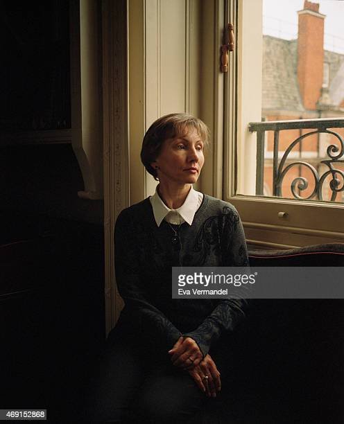 Marina Litvinenko widow of former FSB agent and fugitive Alexander Litvinenko is photographed for the De Standaard Weekblad on February 24 2015 in...