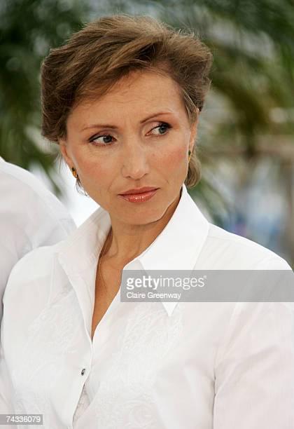 Marina Litvinenko widow of murdered former KGB agent Alexander Litvinenko attends the Rebellion The Litvinenko Case photocall at the Palais des...