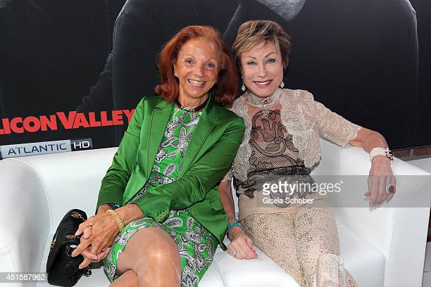 Marina Meggle and Dr AntjeKatrin Kuehnemann attend the 'Gala Abend mit Arthur Cohn' as part of Filmfest Muenchen 2014 at Gasteig on July 1 2014 in...