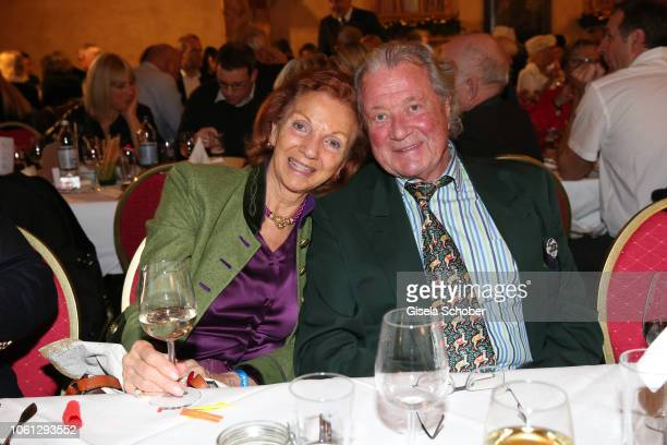 Marina Meggle and her husband Toni Meggle during the Gut Aiderbichl Christmas Market opening on November 13 2018 in Henndorf am Wallersee Austria