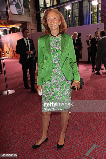 Marina Meggle attends the 'Gala Abend mit Arthur Cohn' as part of Filmfest Muenchen 2014 at Gasteig on July 1 2014 in Munich Germany
