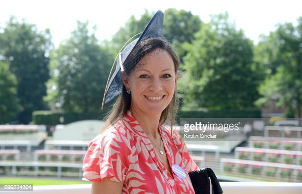 Marina Milburn attends day 2 of Royal Ascot at Ascot Racecourse on June 21 2017 in Ascot England
