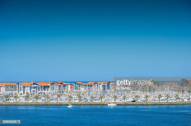 marina of hondarribia - オンダリビア ストックフォトと画像