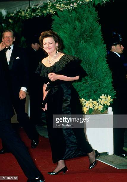 Marina Ogilvy With Her Father The Honourable Angus Ogilvy Arriving At The Royal Opera House To Attend A Special Performance Called ' Fanfare For...