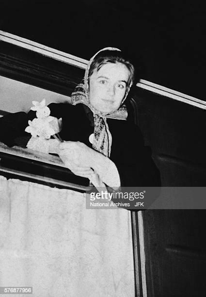 Marina Oswald Leaving Minsk