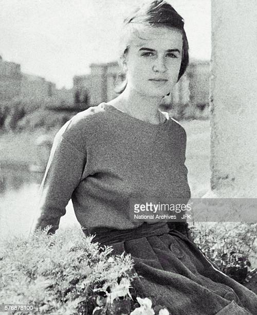 Marina Oswald the wife of Lee Harvey Oswald This photograph was found in the wallet of Lee Harvey Oswald on the day of the John Fitzgerald Kennedy...