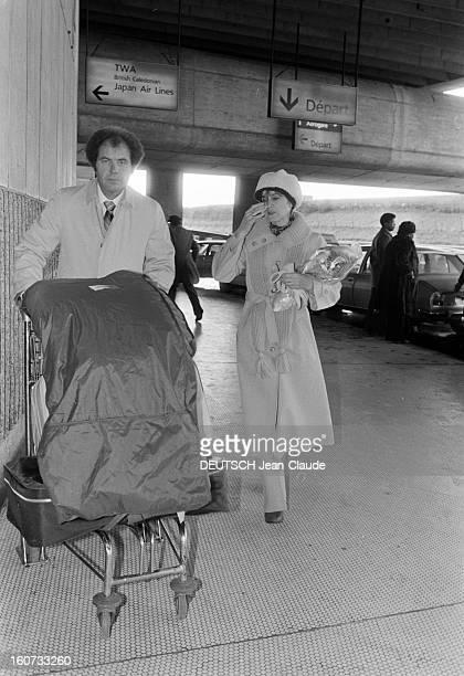 Marina Oswaldporter In Paris To Attend The Tv Programme 'Les Dossiers De L'ecran' Janvier 1979 Marina OSWALDPORTER la veuve de l'assassin présumé du...