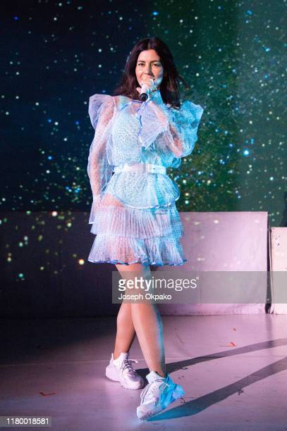 Marina performs at Eventim Apollo on November 4 2019 in London England