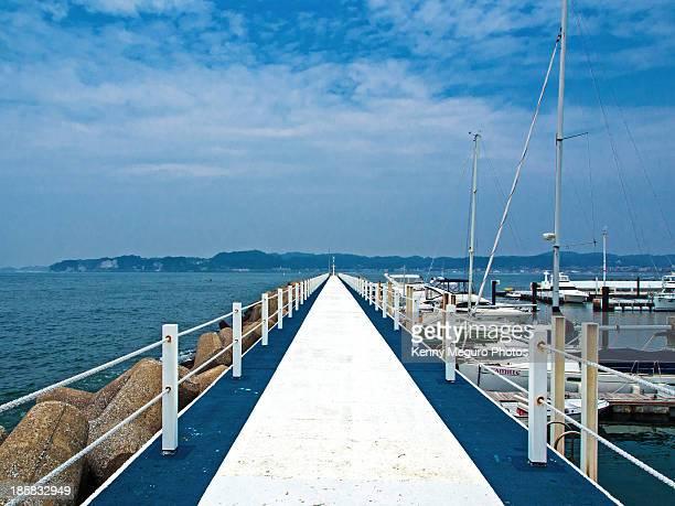 zushi marina - zushi kanagawa stock photos and pictures