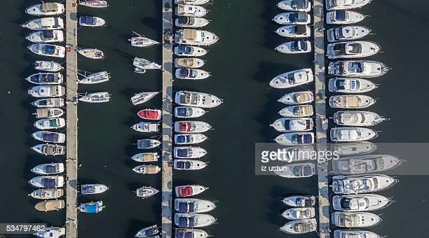 Marina Pier with Yachts