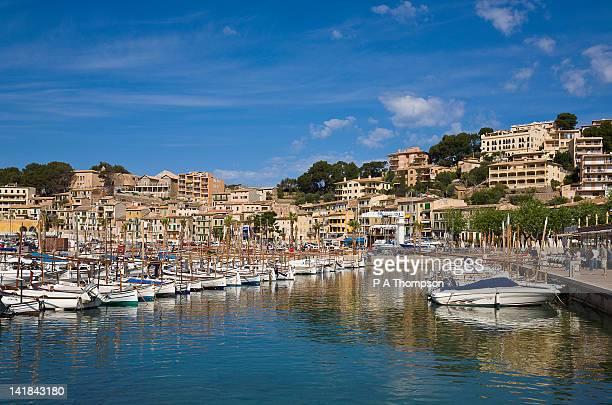 Marina, Port de Soller, West coast, Mallorca, Spain