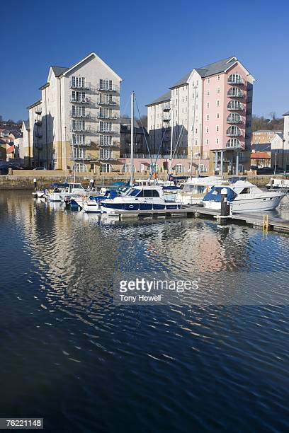 Marina, Portishead, Somerset, England