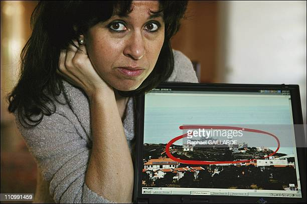 Marina Potoudis shows her family house in Kyrenia, which has been occupied by Turks since their 1974 invasion and is now the property of Turkish...
