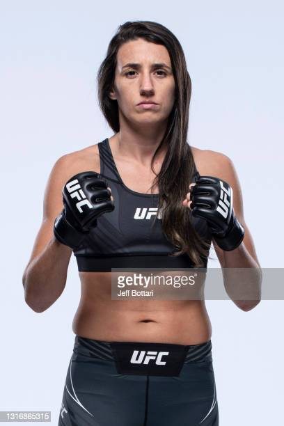 Marina Rodriguez poses for a portrait during a UFC photo session on May 7, 2021 in Las Vegas, Nevada.