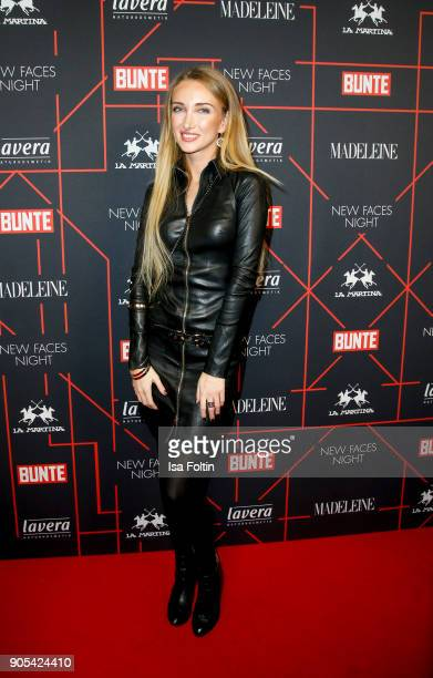 Marina Rudolph during the Bunte New Faces Night at Grace Hotel Zoo on January 15 2018 in Berlin Germany