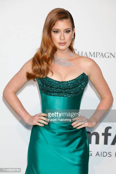 Marina Ruy Barbosa at the amfAR Cannes Gala 2019 at Hotel du CapEdenRoc on May 23 2019 in Cap d'Antibes France