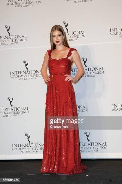 Marina Ruy Barbosa attends 45th International Emmy Awards at New York Hilton on November 20 2017 in New York City