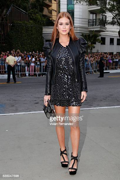 Marina Ruy Barbosa attends Louis Vuitton 2017 Cruise Collection at MAC Niter on May 28 2016 in Niteroi Brazil