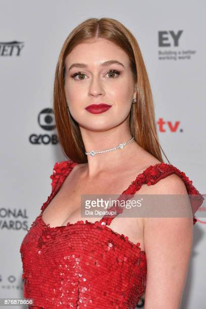 Marina Ruy Barbosa attends the 45th International Emmy Awards at New York Hilton on November 20 2017 in New York City