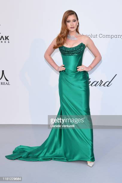 Marina Ruy Barbosa attends the amfAR Cannes Gala 2019 at Hotel du Cap-Eden-Roc on May 23, 2019 in Cap d'Antibes, France.