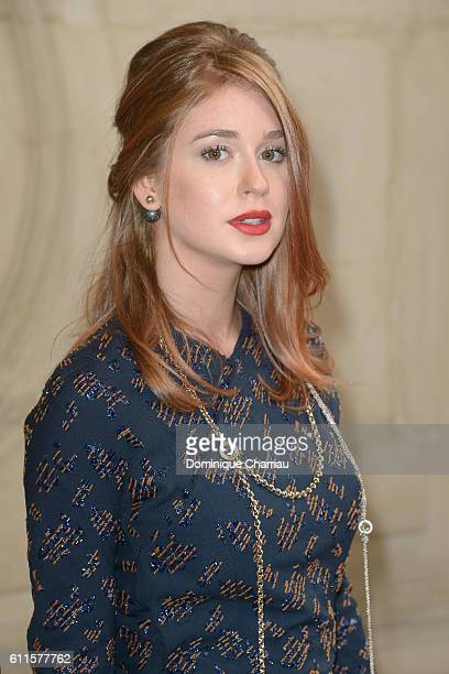 Marina Ruy Barbosa attends the Christian Dior show as part of the Paris Fashion Week Womenswear Spring/Summer 2017 on September 30 2016 in Paris...