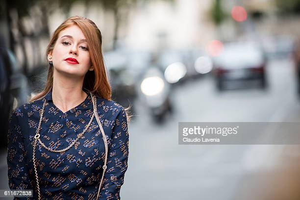 Marina Ruy Barbosa attends the Christian Dior show on day 4 of Paris Womens Fashion Week Spring/Summer 2017Êon September 30 2016 in Paris France