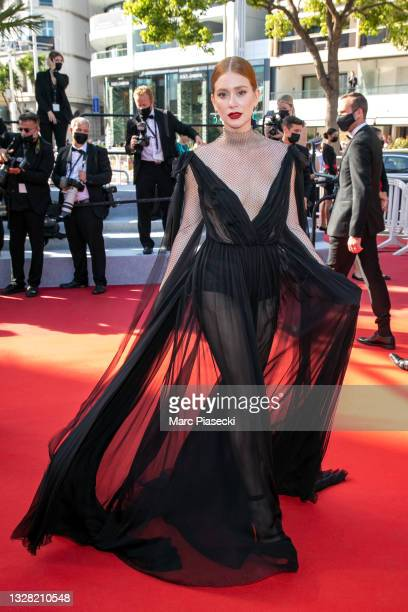 """Marina Ruy Barbosa attends the """"Tre Piani """" screening during the 74th annual Cannes Film Festival on July 11, 2021 in Cannes, France."""