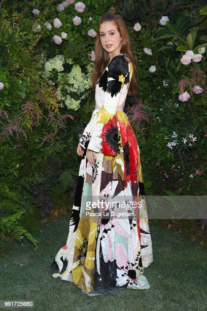 Marina Ruy Barbosa attends the Valentino Haute Couture Fall Winter 2018/2019 show as part of Paris Fashion Week on July 4 2018 in Paris France