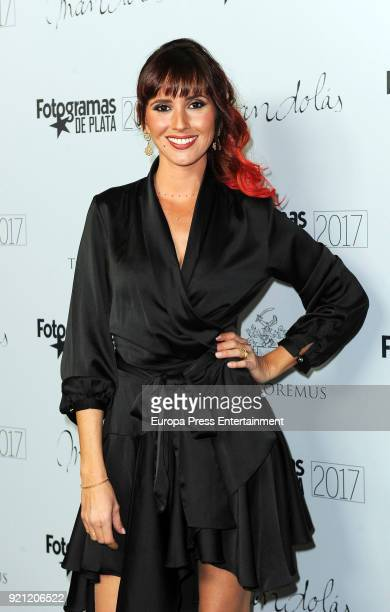Marina San Jose attends the 'Fotogramas de Plata' awards candidates dinner at The Santo Mauro Hotel on February 19 2018 in Madrid Spain