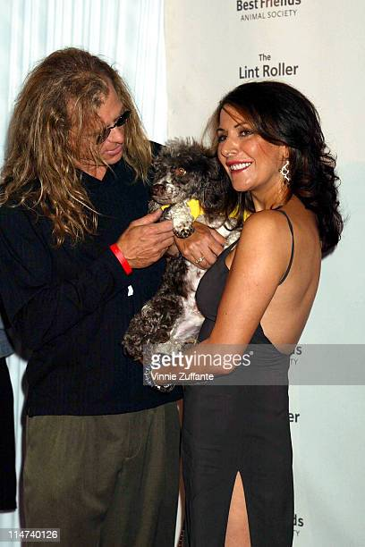 Marina Sirtis and husband attending Best Friends' 2004 Annual Lint Roller Party to benefit animal adoption at the Hollywood Athletic Club in...