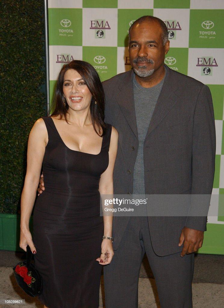 Marina Sirtis and Michael Dorn during 13th Annual