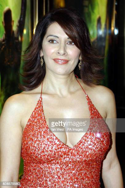 Marina Sirtis arrives for the European Charity Premiere of Star Trek Nemesis at the Empire Leicester Square