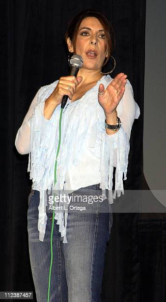 "Marina Sirtis during 15th Anniversary of ""Star Trek: The Next Generation"" Convention - Day One at Pasadena Civic Auditorium in Pasadena, California,..."